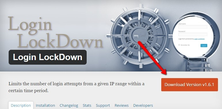 Limit lock down plugin
