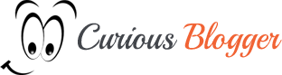 curious blogger logo