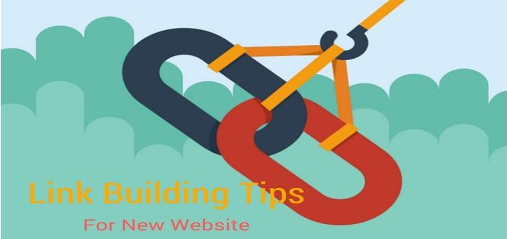 link building for new website