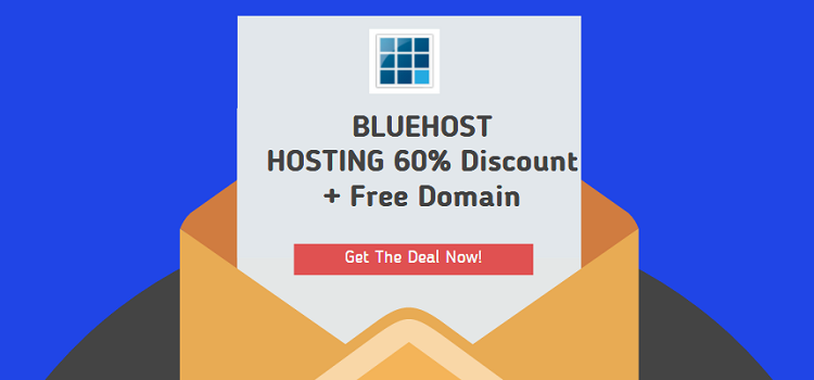 BlueHost Summer Sale 2016: 63% Off Shared Hosting + Free Domain