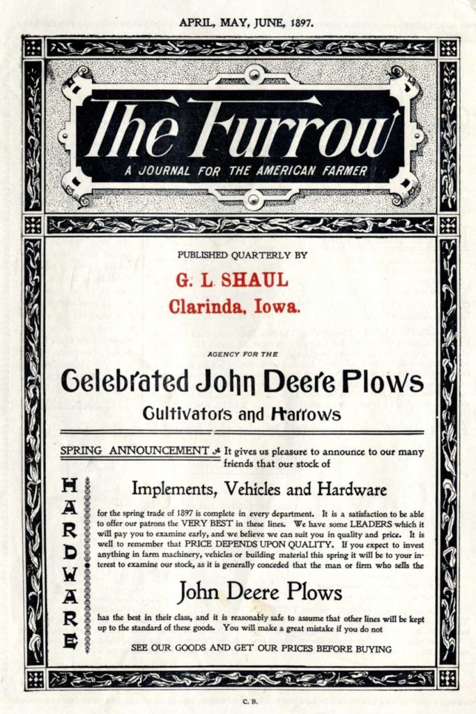 furrow front page