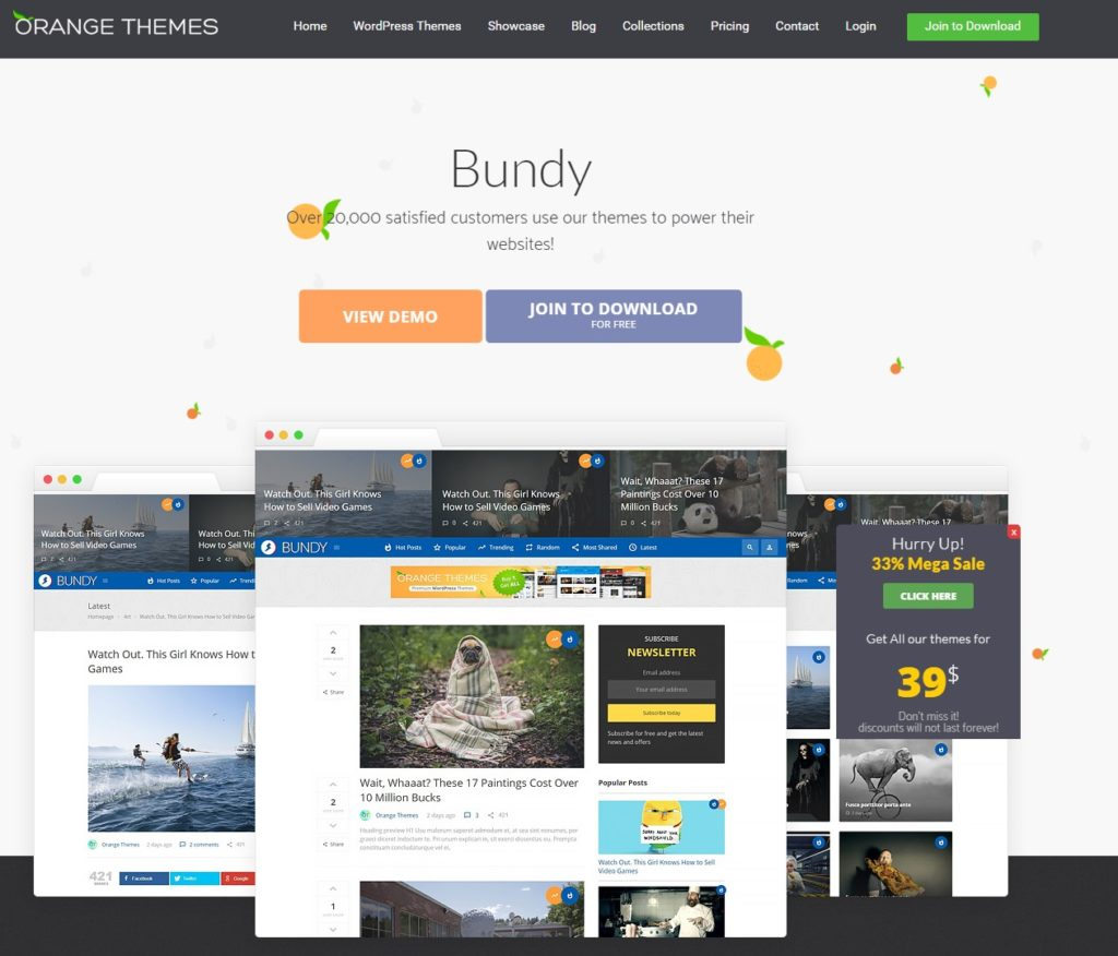 Bundy by Orange Themes