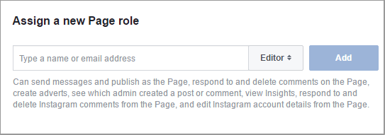 assign a new page role
