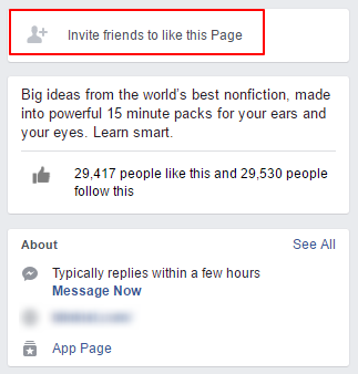 invite your friends to like this page