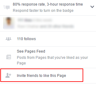 invite friends to like this page