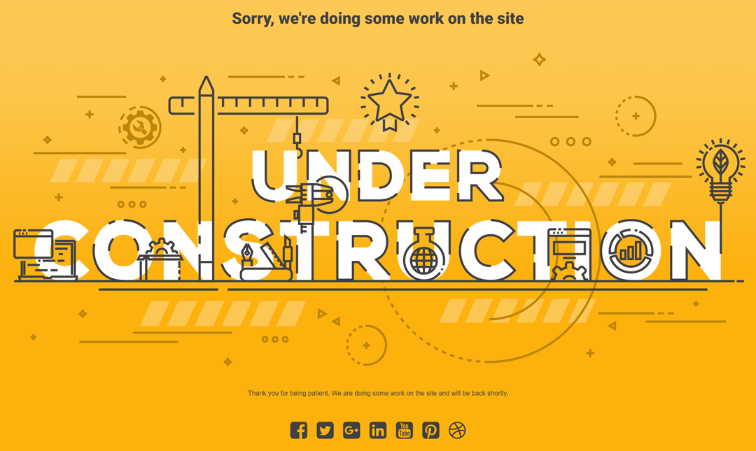 free under construction page