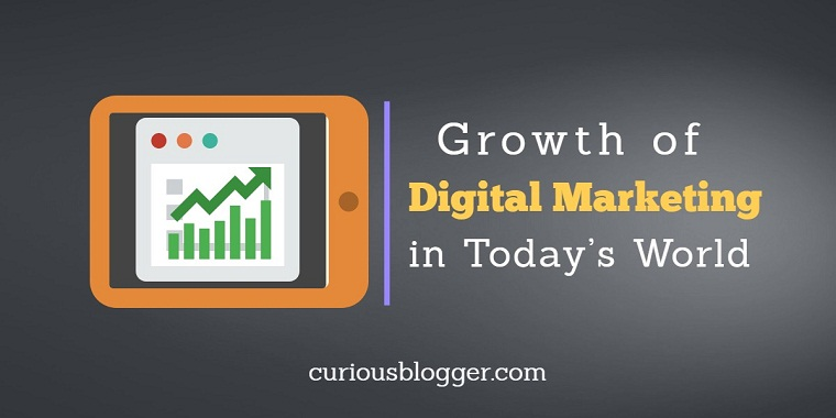 Growth of Digital Marketing in Today's World