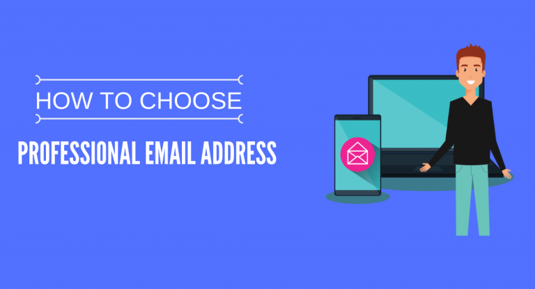 Choose Email Address