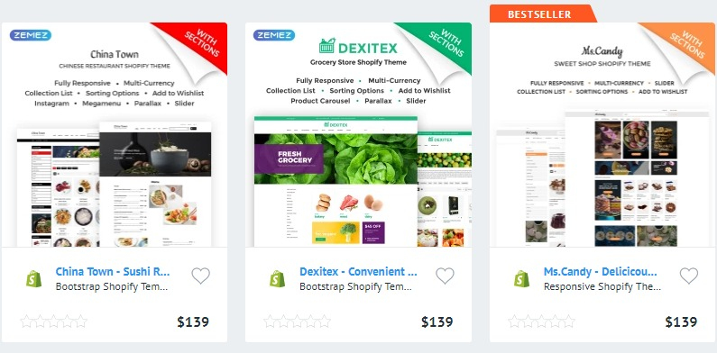 Food Restaurant Shopify Themes