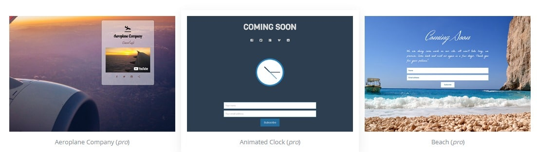 Themes Coming Soon Maintenance Mode for WordPress
