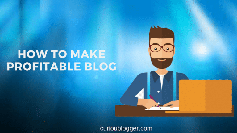 How to make profitable blog