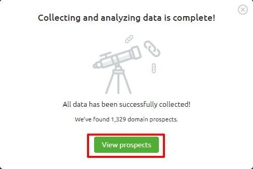 link prospect list