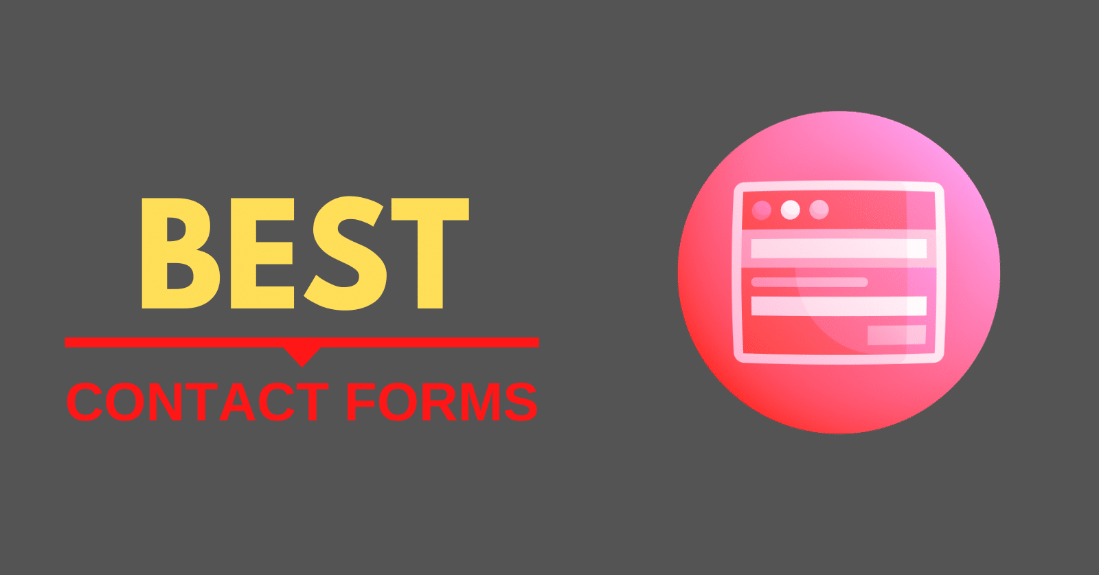 Best Contact Forms